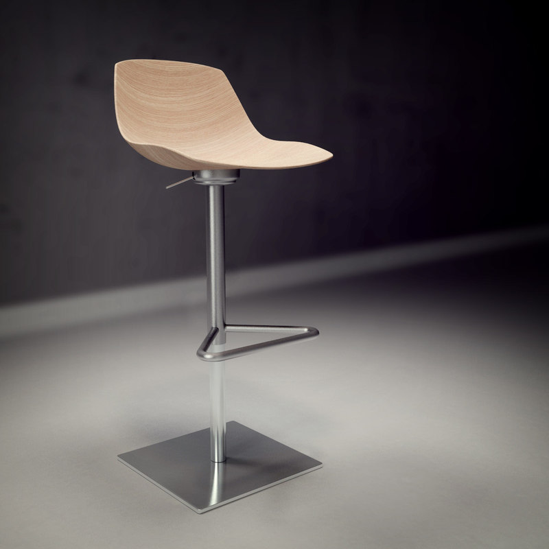 3ds max lapalma miunn chair