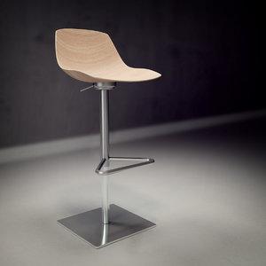 3ds max lapalma miunn chair