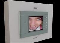 3d model door video phone cav-500