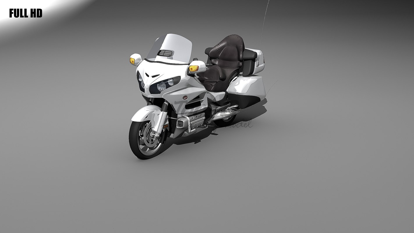 3d honda goldwing