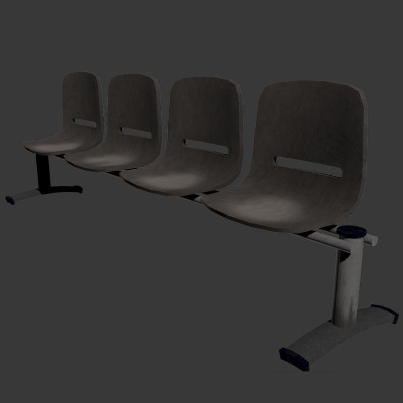 set waiting chairs max