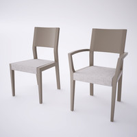 chair armchair 3d model