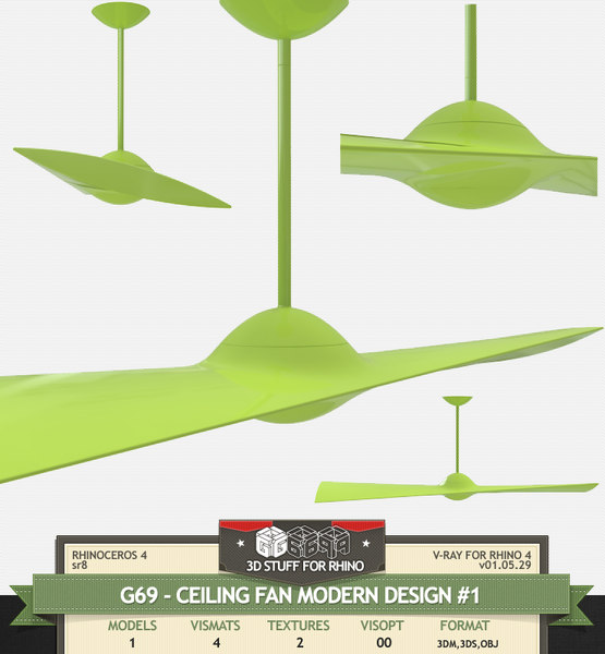 vismat rhino 3d model