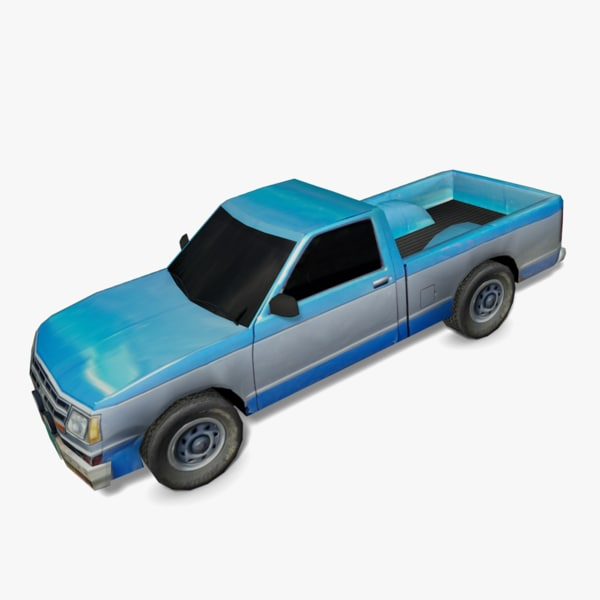 old truck 3d 3ds