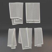 3dsmax towels 2