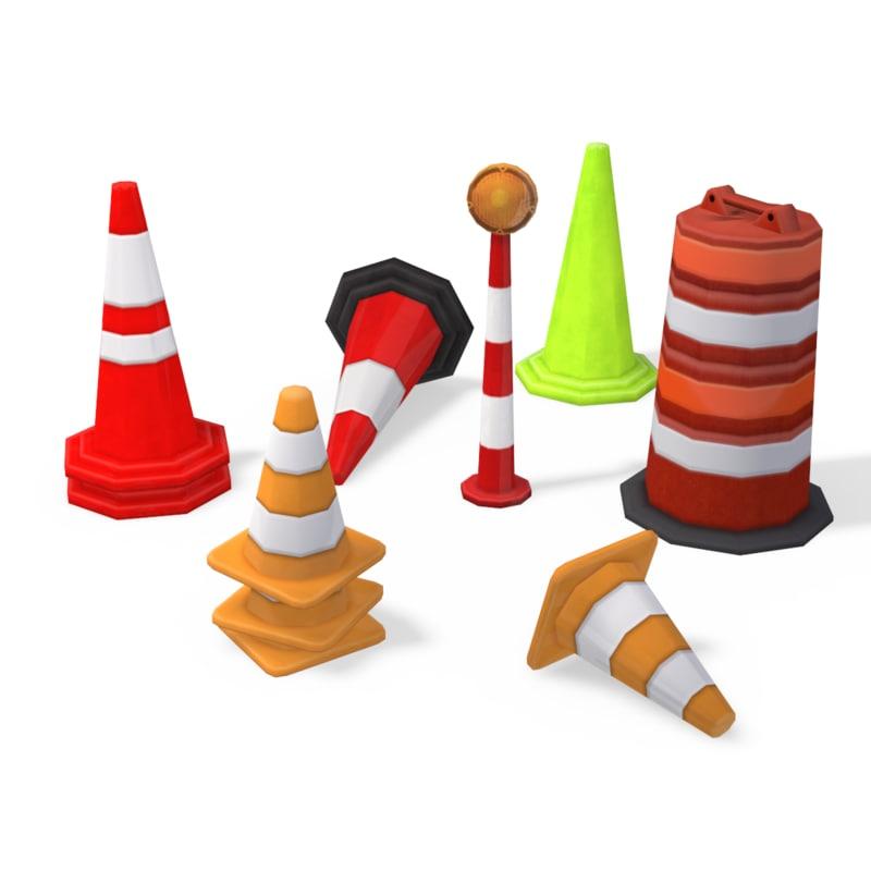 road safety cones max