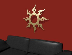 dxf decorative wall art