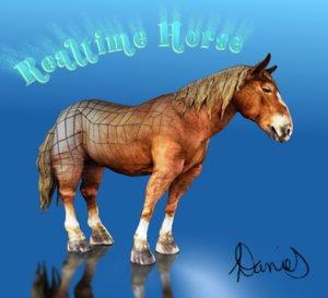 horse realtime obj free