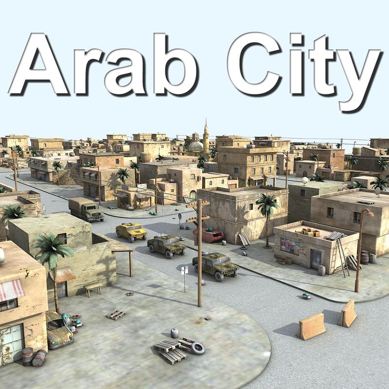 3d arab city 2