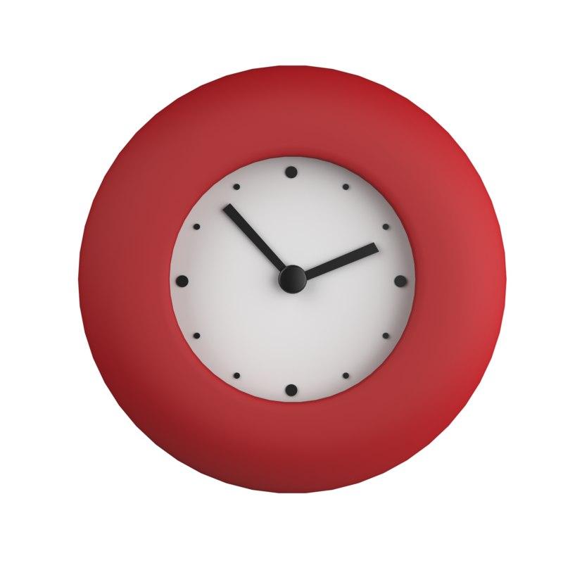 3d 3ds Wall Clocks Ikea