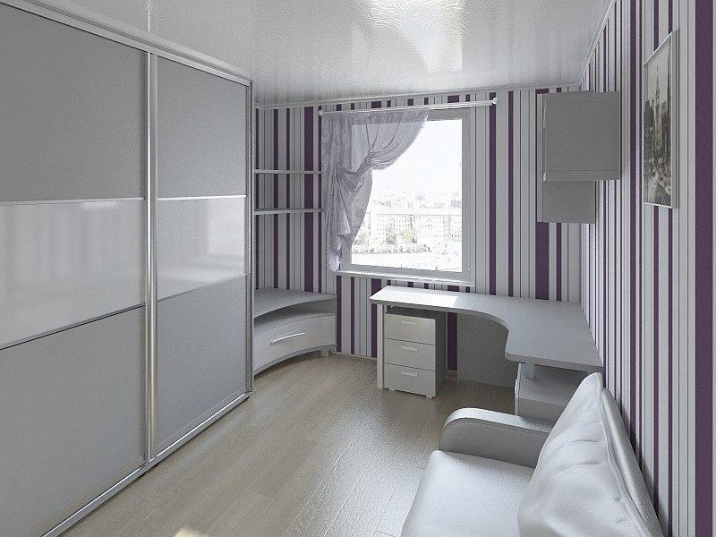 room interior 3d obj