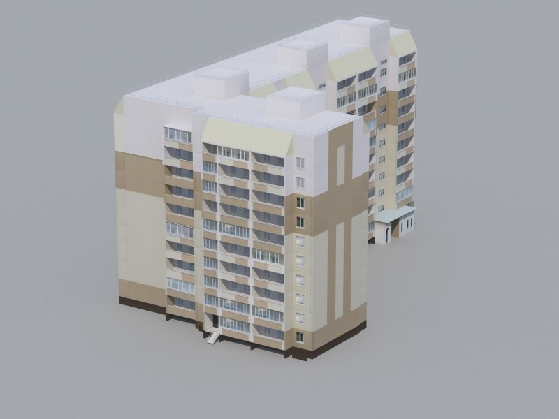 low-polygonal building games 3d max