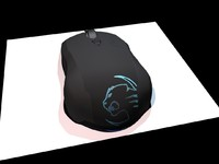 roccat lua mouse 3d model