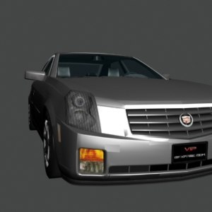 3ds max cadillac cts