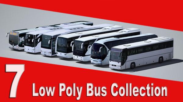 7 bus 3d fbx