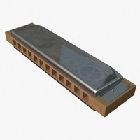 chromatic harmonica 3d 3ds