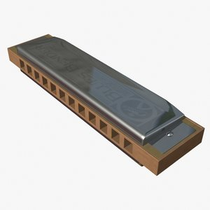 chromatic harmonica 3d 3ds