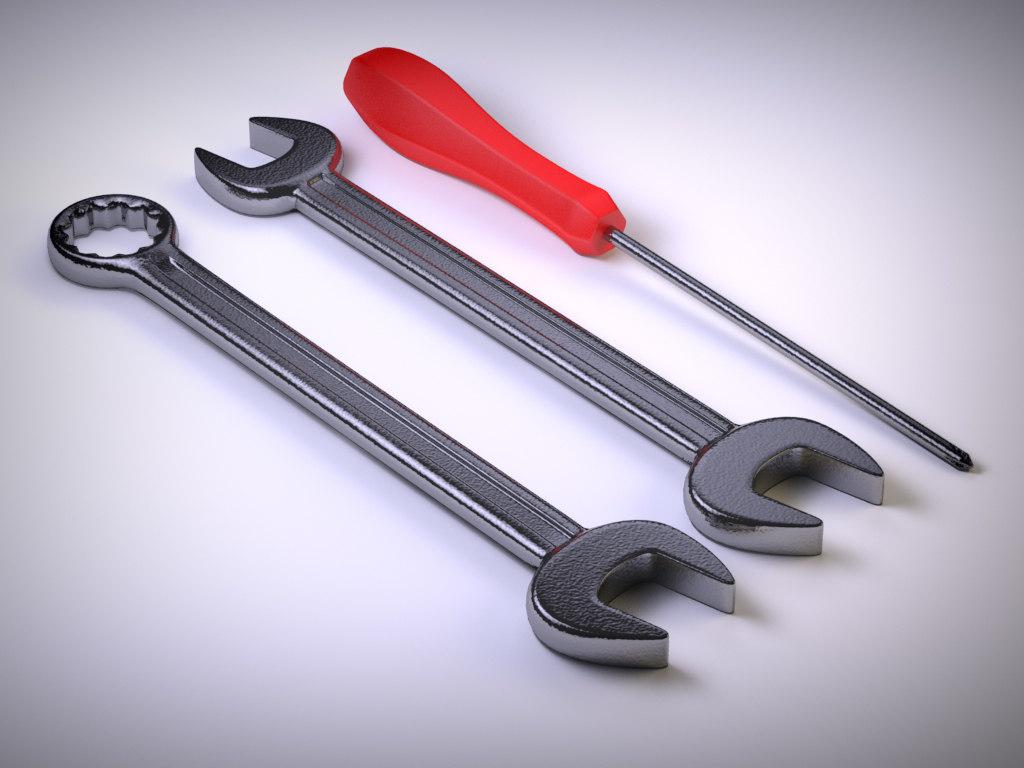 3ds max tool screwdriver