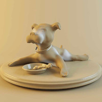 3d great dane model