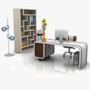Modern Office Set 03