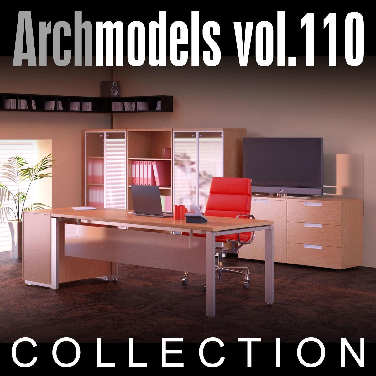 3d model archmodels vol 110