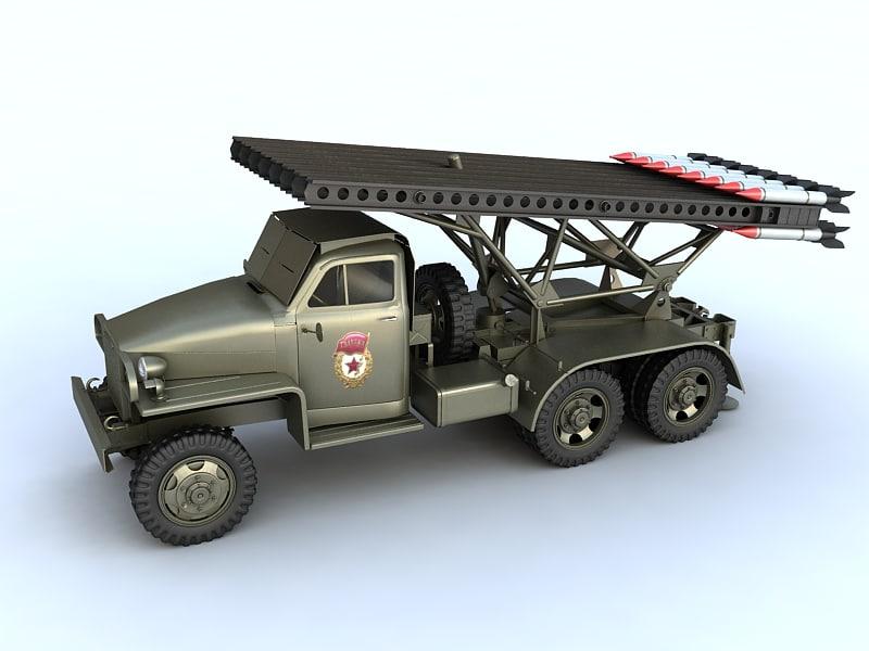 3dsmax katyusha artillery