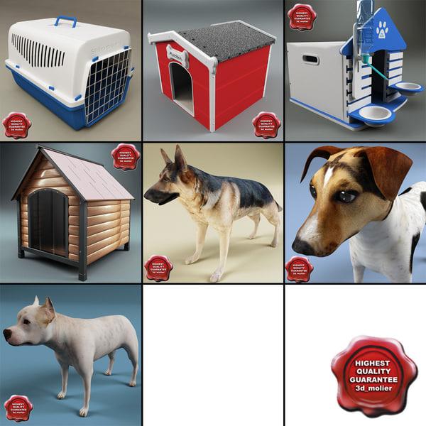 dogs v2 3d model