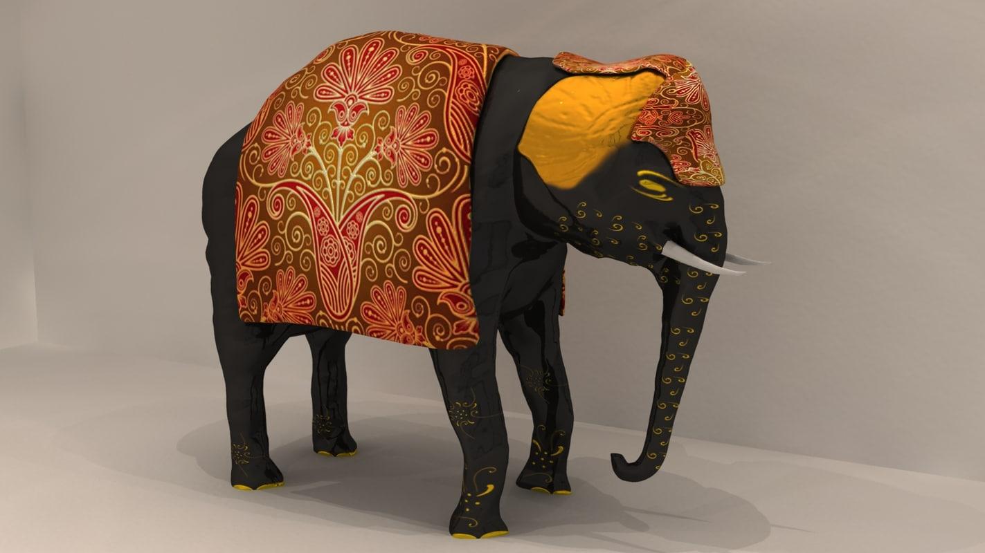 maya traditional indian elephant