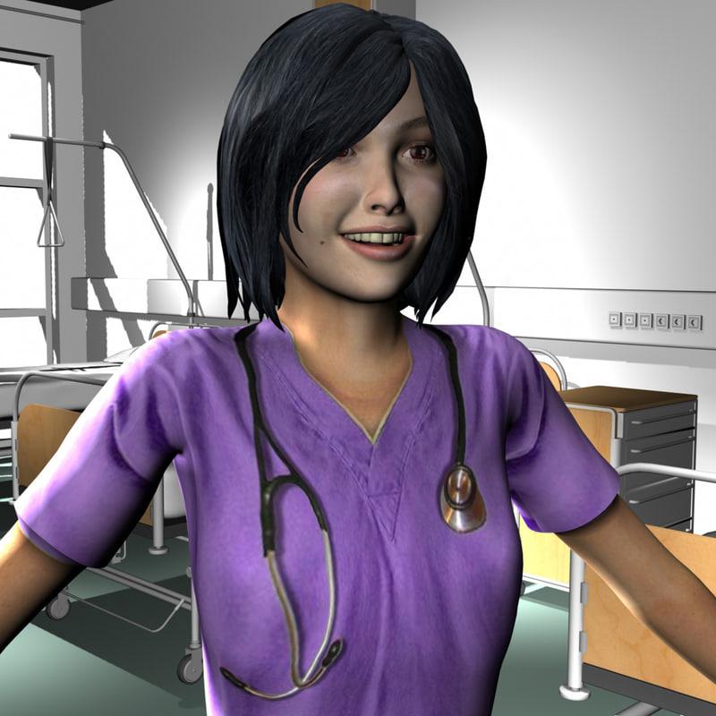 female medical staff ma