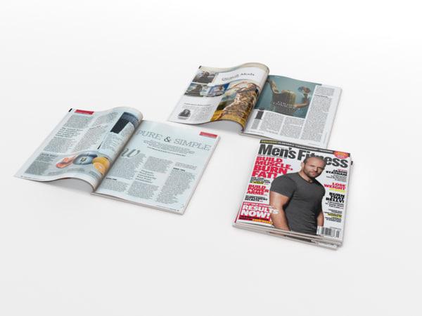 3d magazines open closed