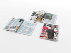 3d magazines open closed