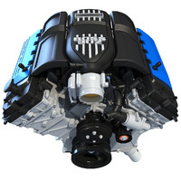2012 Ford Mustang Boss 302 V8 Engine
