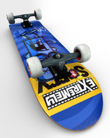 3d flip skateboard model