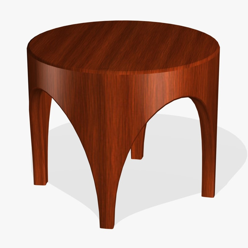 3ds stool plant stand