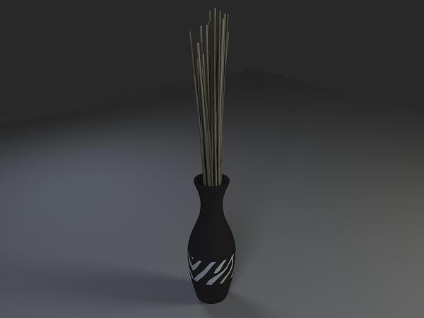 lwo decorative vase