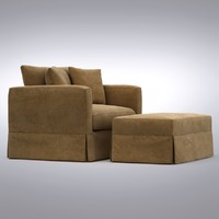 crate barrel - willow 3d max