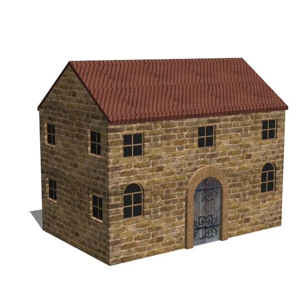 3ds max victorian workhouse