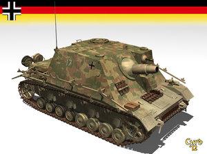 3d sturmpanzer brummbars model