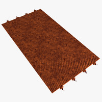3d max carpet floor rug