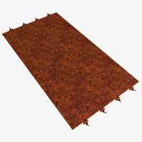 3d max carpet floor rug