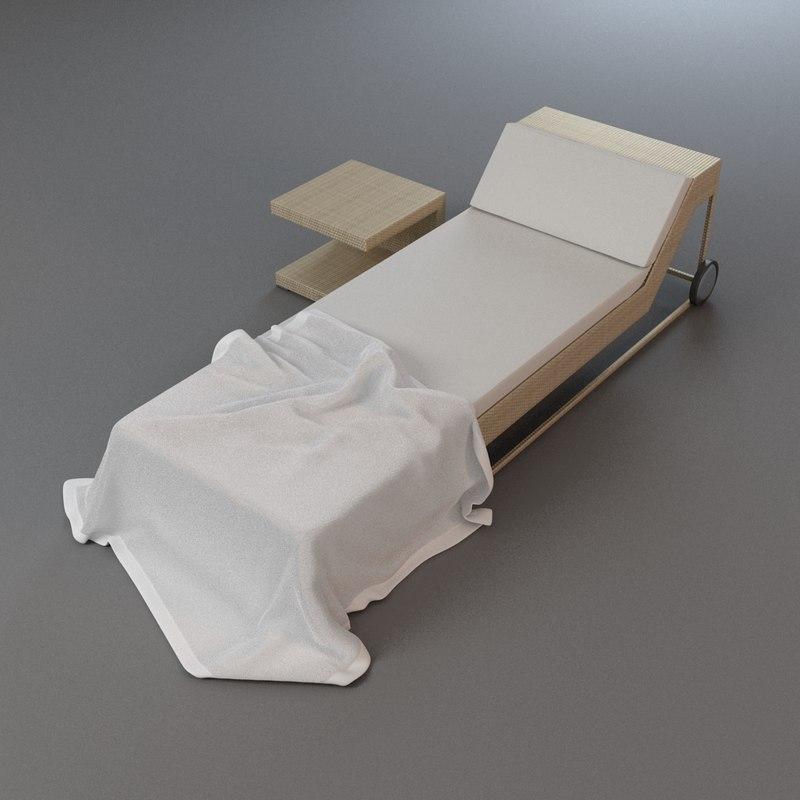 max lounge towel