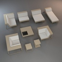 Garden Furniture Set 4