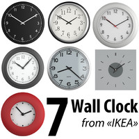 classic wall clocks ikea 3d max