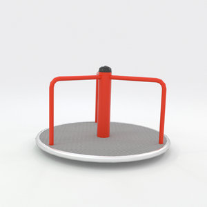 3ds max carousel