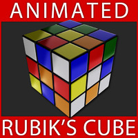3ds max rubik s magic cube