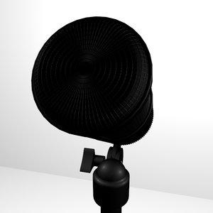 3d microphone model