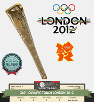 G69-OLYMPIC TORCH 2012 LONDON
