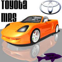 free toyota mrs 3d model