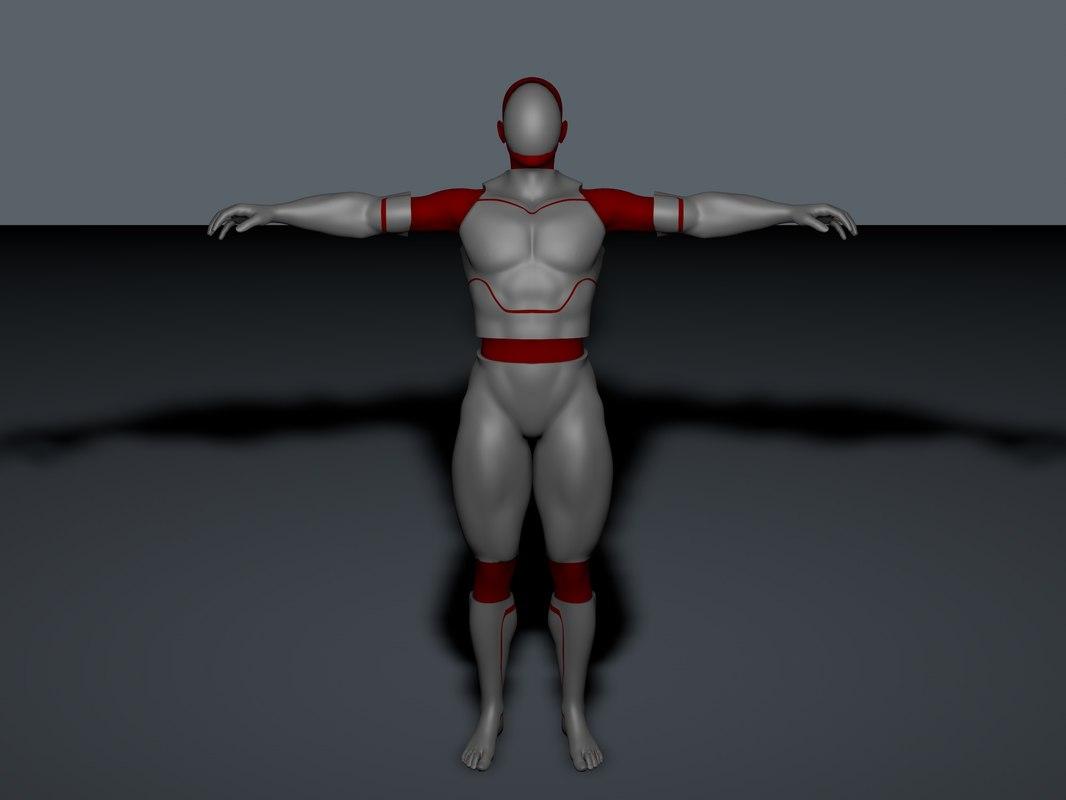 free c4d model robot