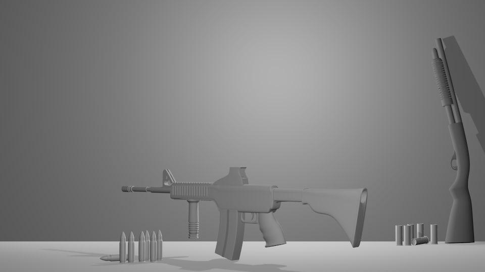 guns 3d 3ds